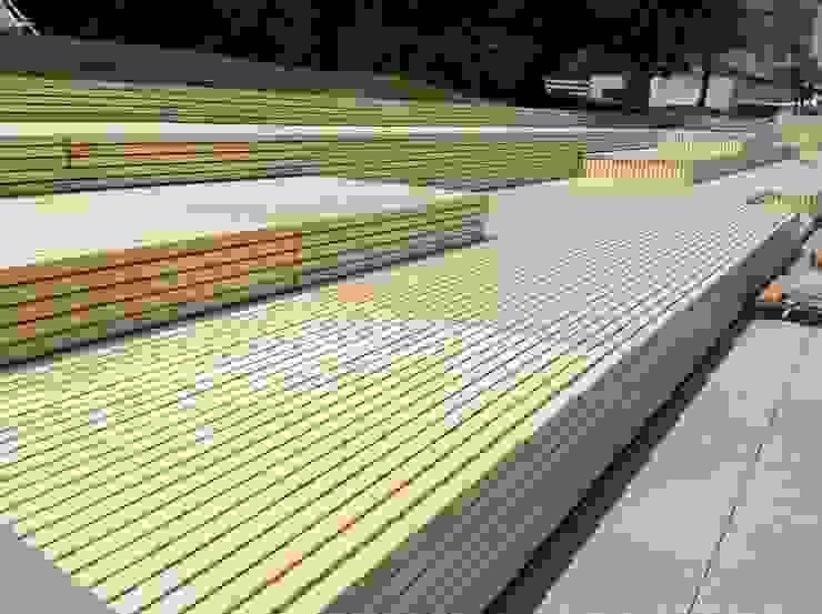 Eden B.V. Modern Terrace Wood Wood effect