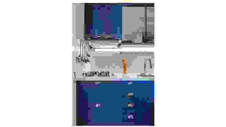Sgabello Interiores KitchenLighting Metal White