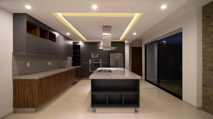 GRUPO VOLTA Built-in kitchens Marble Grey