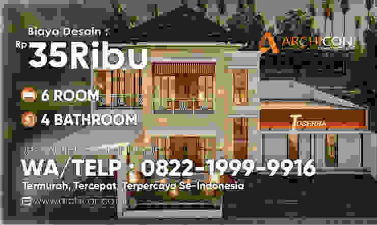 Jasa Arsitek Archicon Architect Small bedroom Шифер Сірий