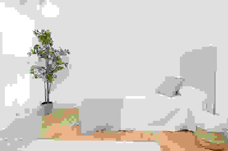 Theunissen Staging y Decoración SL BedroomBeds & headboards Tekstil Beige