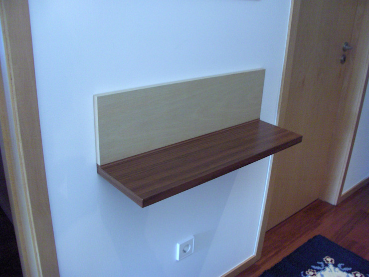 Renato Fernandes - arquitetura Corridor, hallway & stairs Accessories & decoration Wood Wood effect