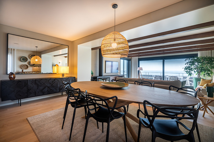 ShiStudio Interior Design Comedores de estilo moderno