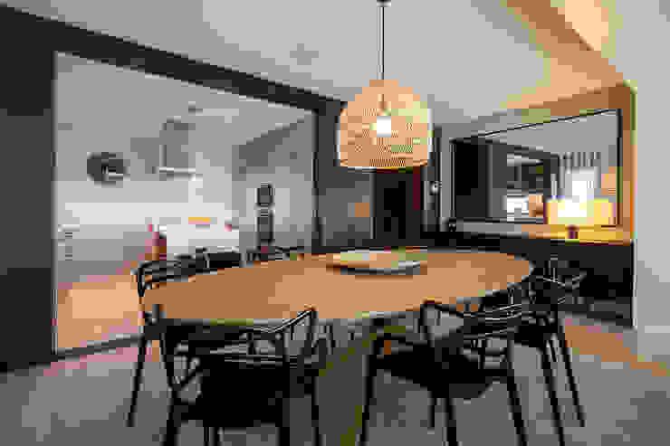 ShiStudio Interior Design Comedores de estilo minimalista