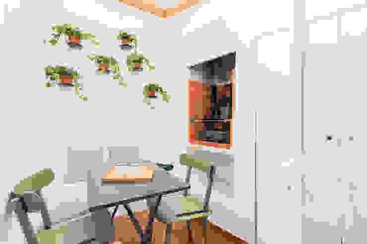A Casa da Vizinha - Terraço Rima Design Varandas, marquises e terraços escandinavos