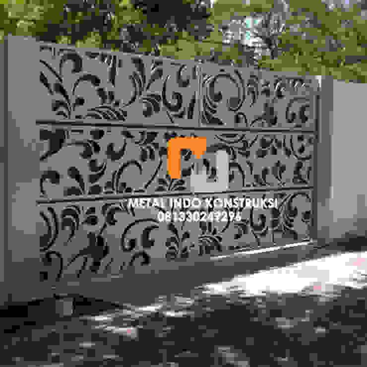 Bengkel Las Nganjuk dan Pasang Plafon & Kanopi Nganjuk Metal Indo Konstruksi Rumah tinggal Aluminium/Seng White