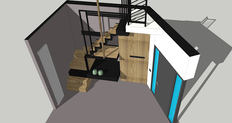 Multifunctional staircase MEF Architect
