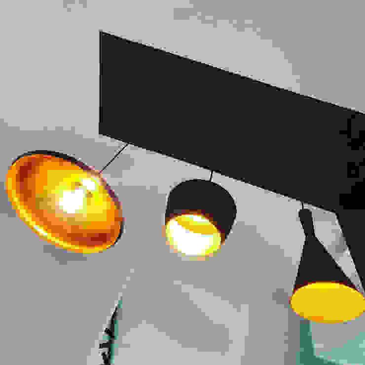 design lamps MEF Architect Inbouwkeukens Metaal Zwart