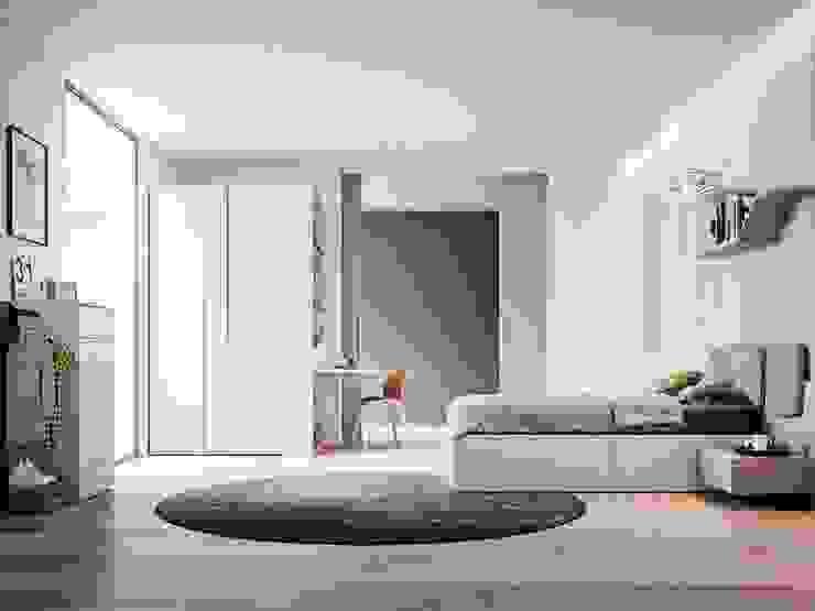 Cameretta con scrittoio a ribalta Tanno Arredamenti Camera da letto moderna