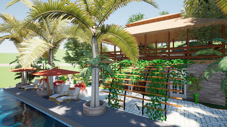 ROQA.7 ARQUITECTURA Y PAISAJE Country style garden
