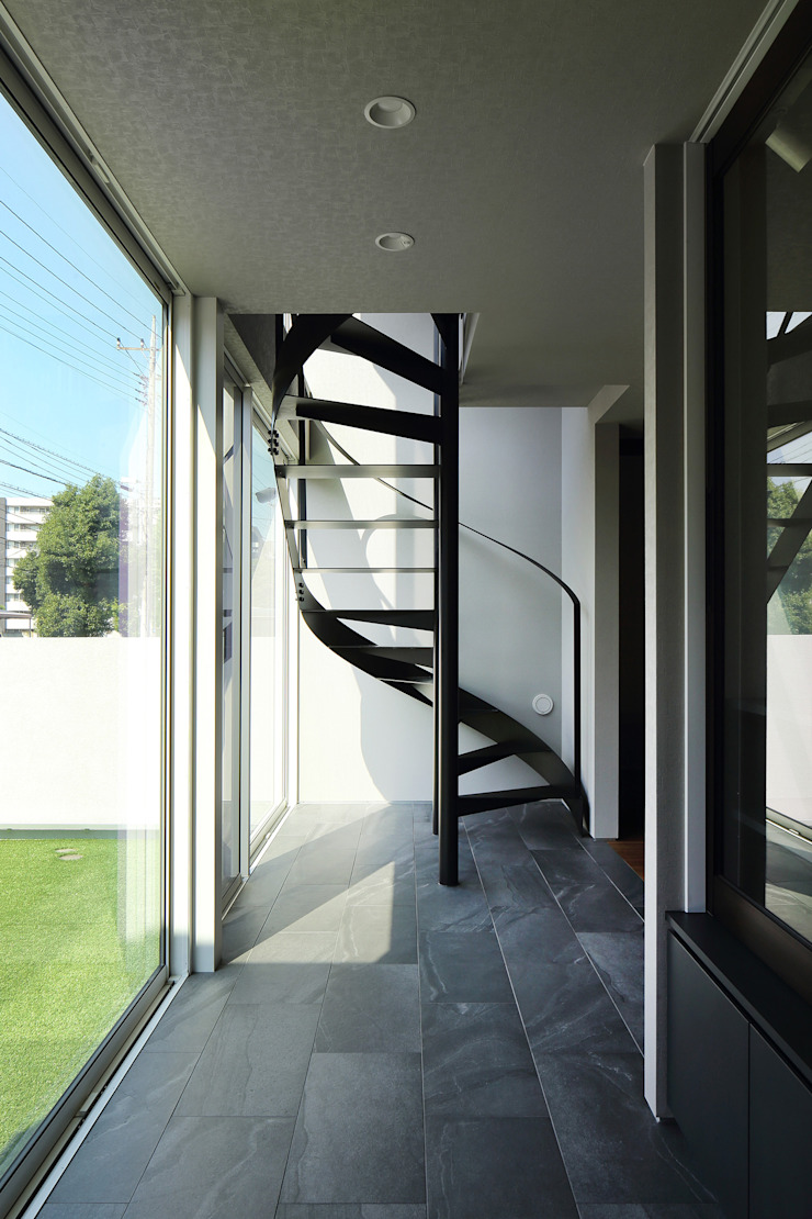 *studio LOOP 建築設計事務所 Stairs Iron/Steel Black