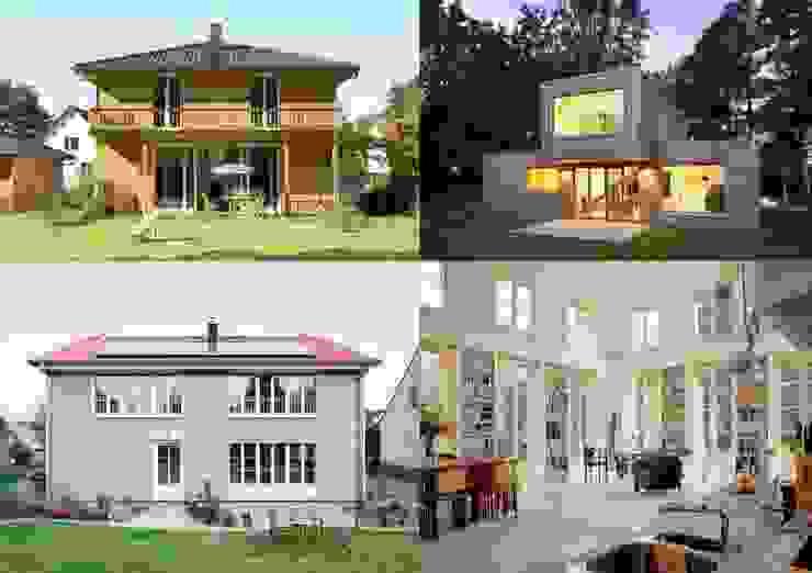 Müllers Büro - Architekten und Ingenieure - energieeffiziente Häuser Müllers Büro Einfamilienhaus Holz Weiß