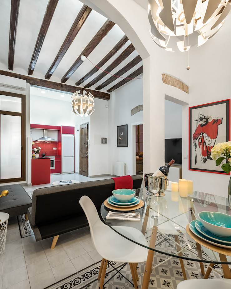 MANUEL TORRES DESIGN Modern dining room