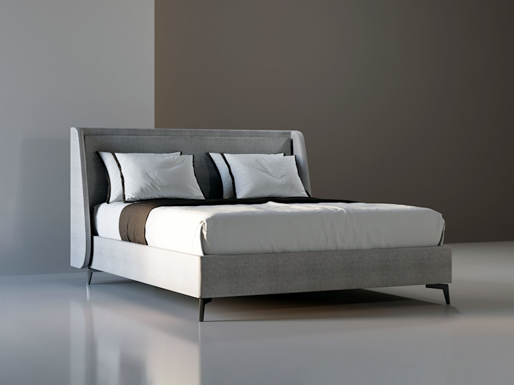 DARIO BED ITALIANELEMENTS BedroomBeds & headboards Textile