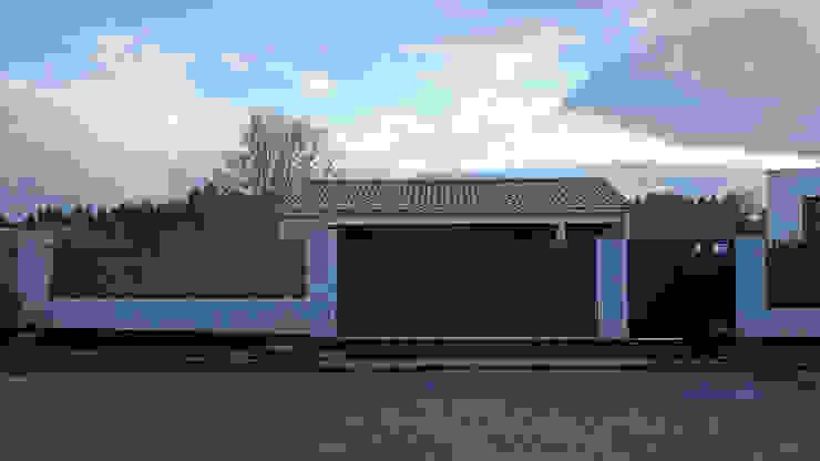 AD+ arquitectura Prefabricated home Stone White