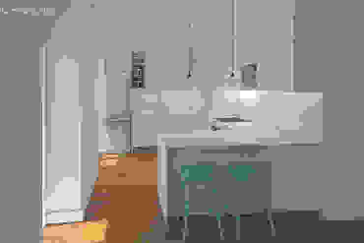 Cozinha Lagom studio Cozinhas minimalistas MDF Verde