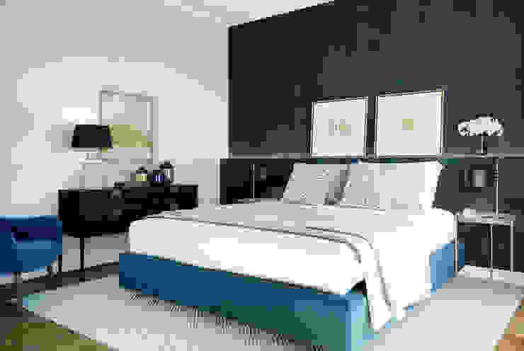 R. Prata Apartment ATMOSFERAS_ Interior Design Quartos minimalistas