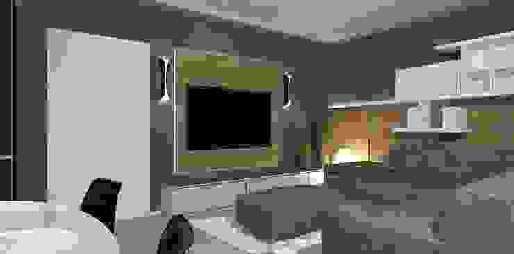 interior design Interior Design Stefano Bergami Soggiorno moderno
