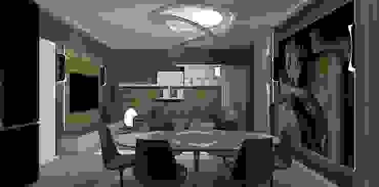 sala pranzo interior design Interior Design Stefano Bergami Sala da pranzo moderna