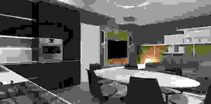sala pranzo interior design Interior Design Stefano Bergami Cucina moderna