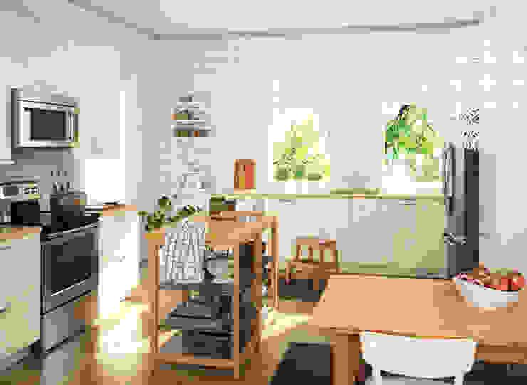 Cocina Ikea Adriana Salinas Cocinas integrales Blanco