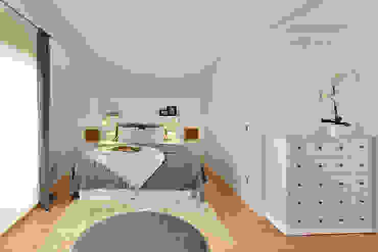 Dormitorio - Bedroom Ambar Decoraciones Dormitorios pequeños Gris