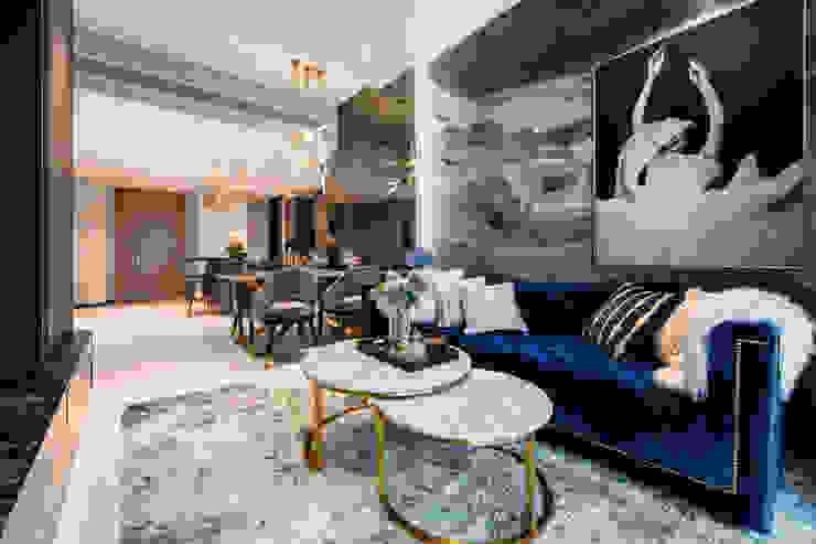 Mr Shopper Studio Pte Ltd Modern living room