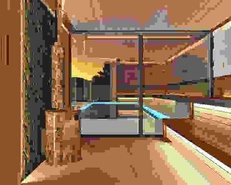 Студия дизайна ROMANIUK DESIGN Minimalist spa
