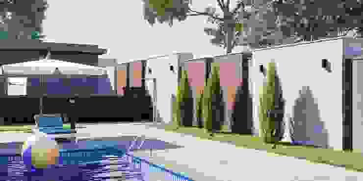 Студия дизайна ROMANIUK DESIGN Minimalist houses