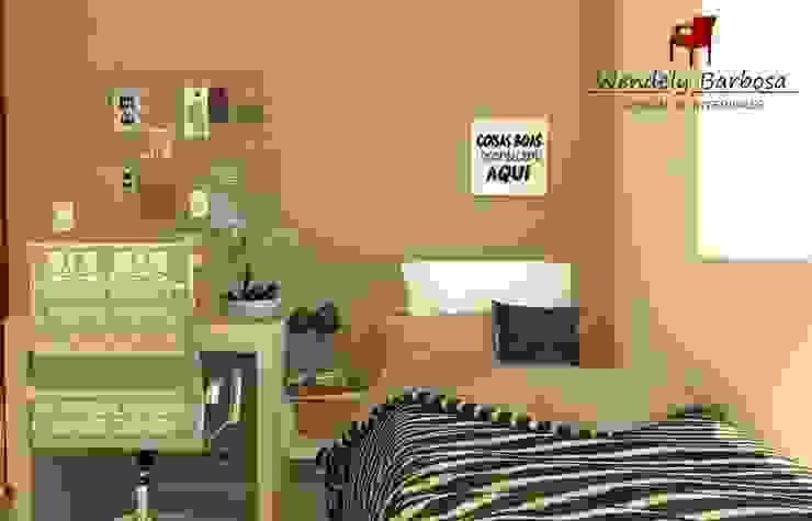 Wendely Barbosa - Designer de Interiores Small bedroom