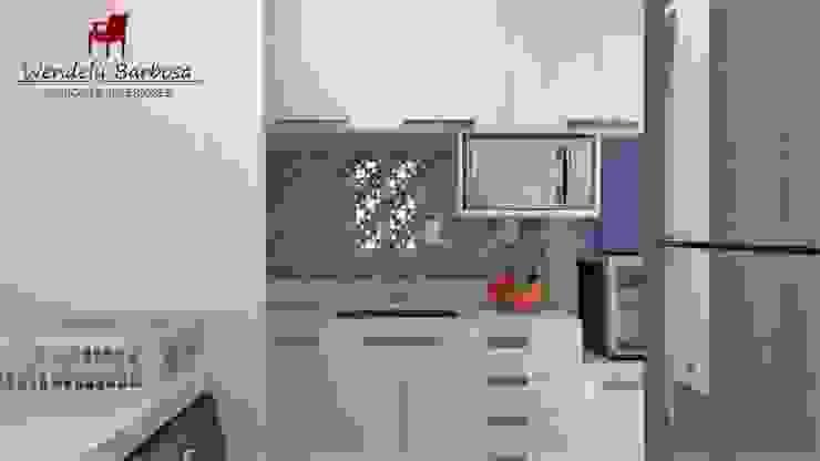 Wendely Barbosa - Designer de Interiores Modern Kitchen