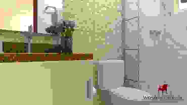 Wendely Barbosa - Designer de Interiores Modern Bathroom