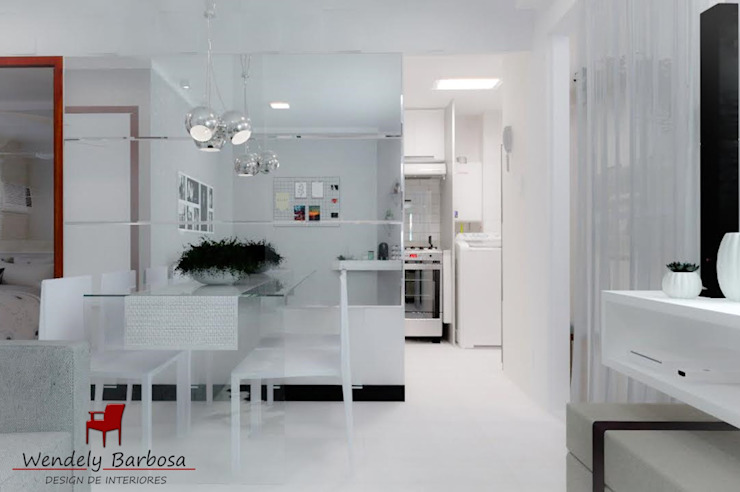 Wendely Barbosa - Designer de Interiores Їдальня