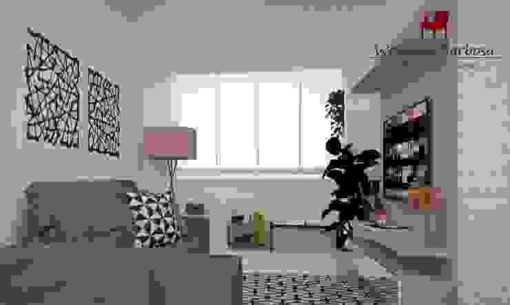 Wendely Barbosa - Designer de Interiores Вітальня