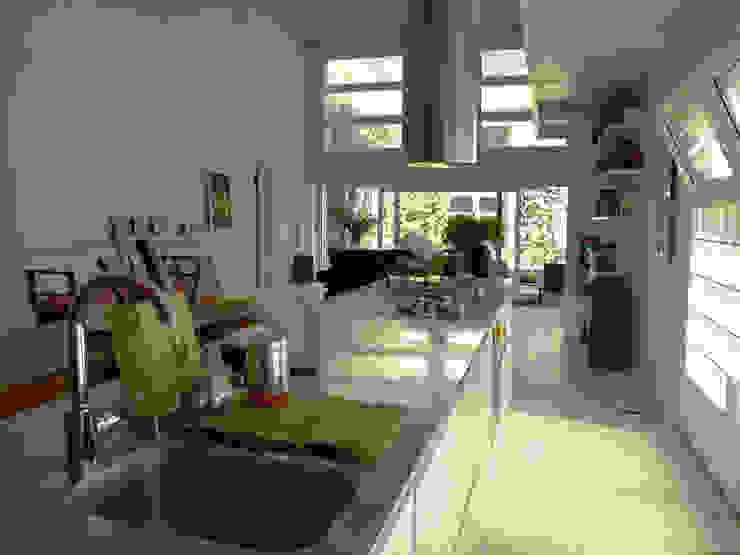 piano di acciaio Luisa Olgiati Cucina attrezzata