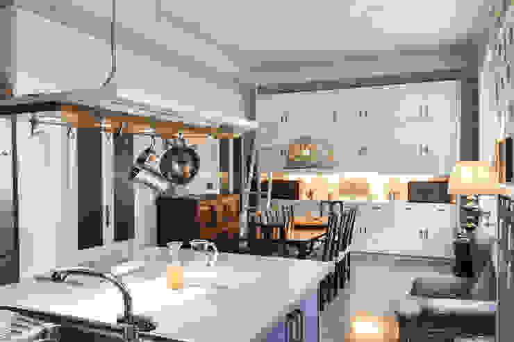 cucina e sala da pranzo Luisa Olgiati Cucina attrezzata