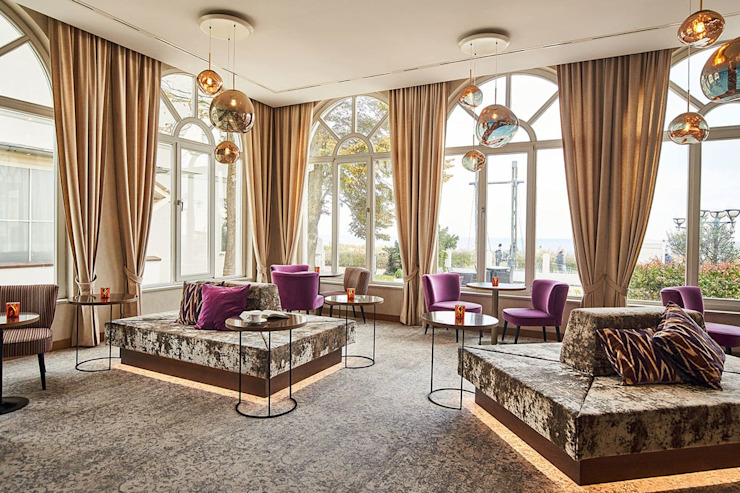 Sala Attesa Luisa Olgiati Hotel moderni