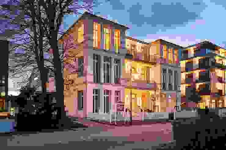 Facciata esterna esistente Luisa Olgiati Hotel moderni