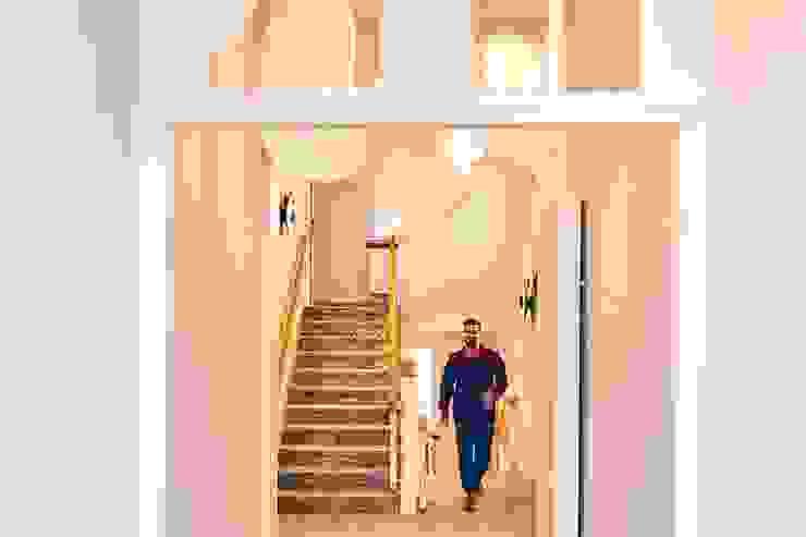 Vano scala Luisa Olgiati Hotel moderni