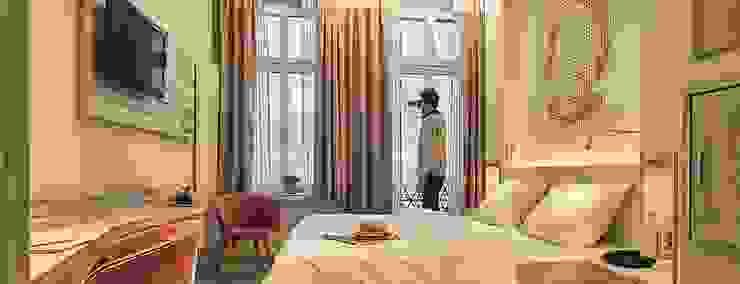 Camera da letto con vista sul spiaggia Luisa Olgiati Hotel moderni