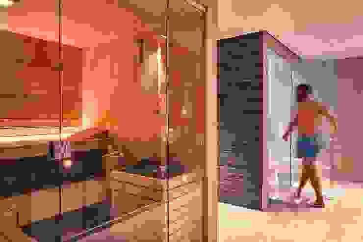 Spa & wellness _ Sauna Luisa Olgiati Hotel moderni