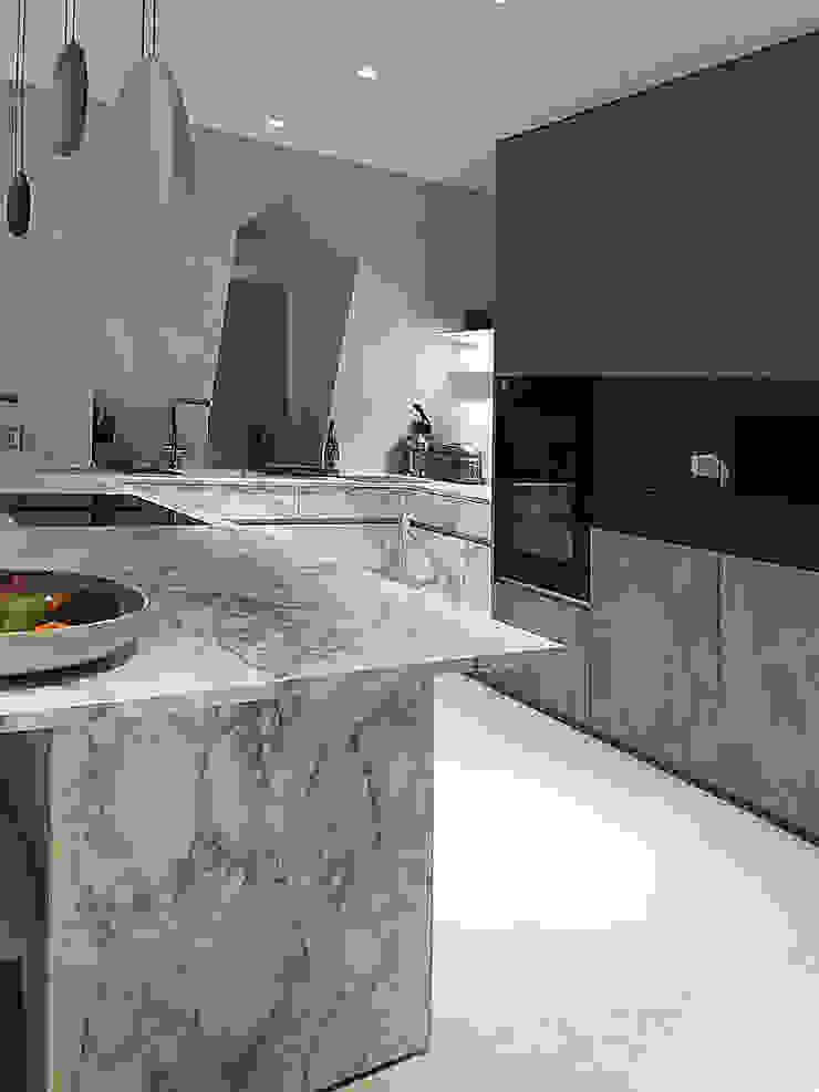 vista cucina Luisa Olgiati Cucina moderna