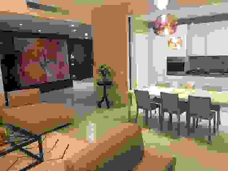 Zona cucina Luisa Olgiati Soggiorno moderno