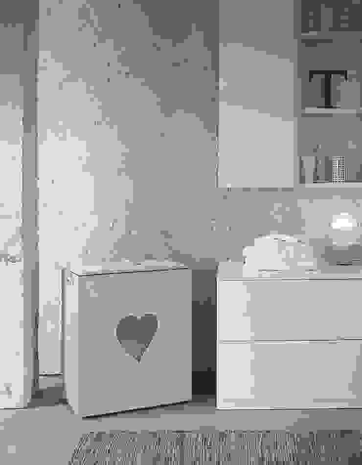 Limac Design BathroomStorage Leather White