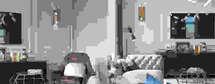 DelightFULL 现代客厅設計點子、靈感 & 圖片