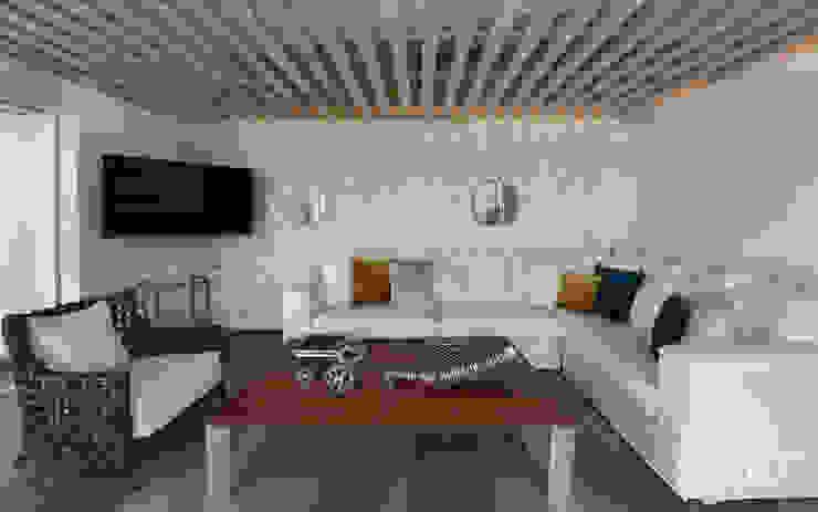 Unio Studio Ruang Keluarga Modern