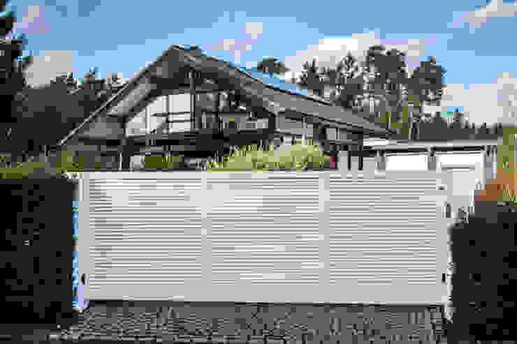 Nordzaun Garden Fencing & walls Aluminium/Zinc White