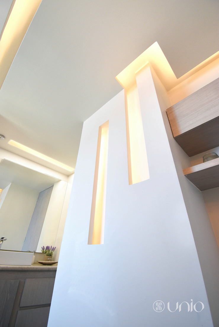 Unio Studio Koridor & Tangga Modern