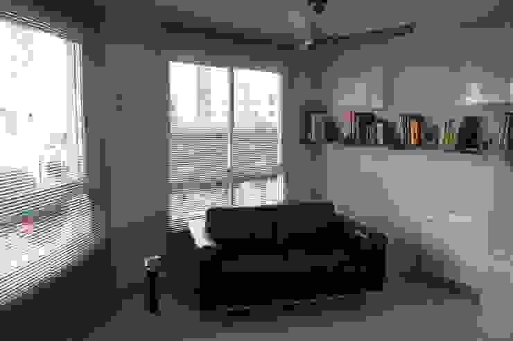 zona relax del despacho sin papel Sara Hueso Fibla