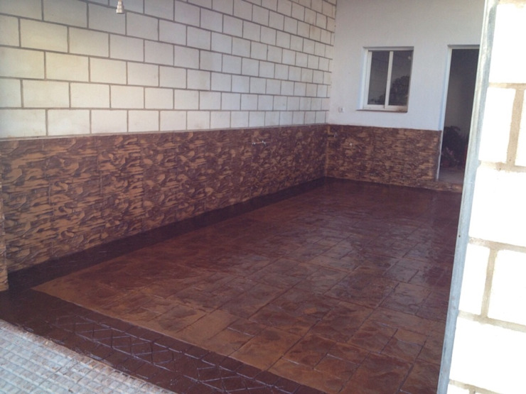 Euromar Pavimentos Sekolah Klasik Beton Brown